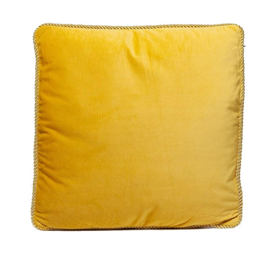 Coussin St-Tropez jaune 45x45cm Kare Design