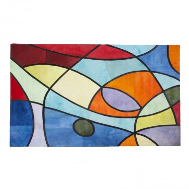 Tapis Powers multicolore 170x240cm Kare Design
