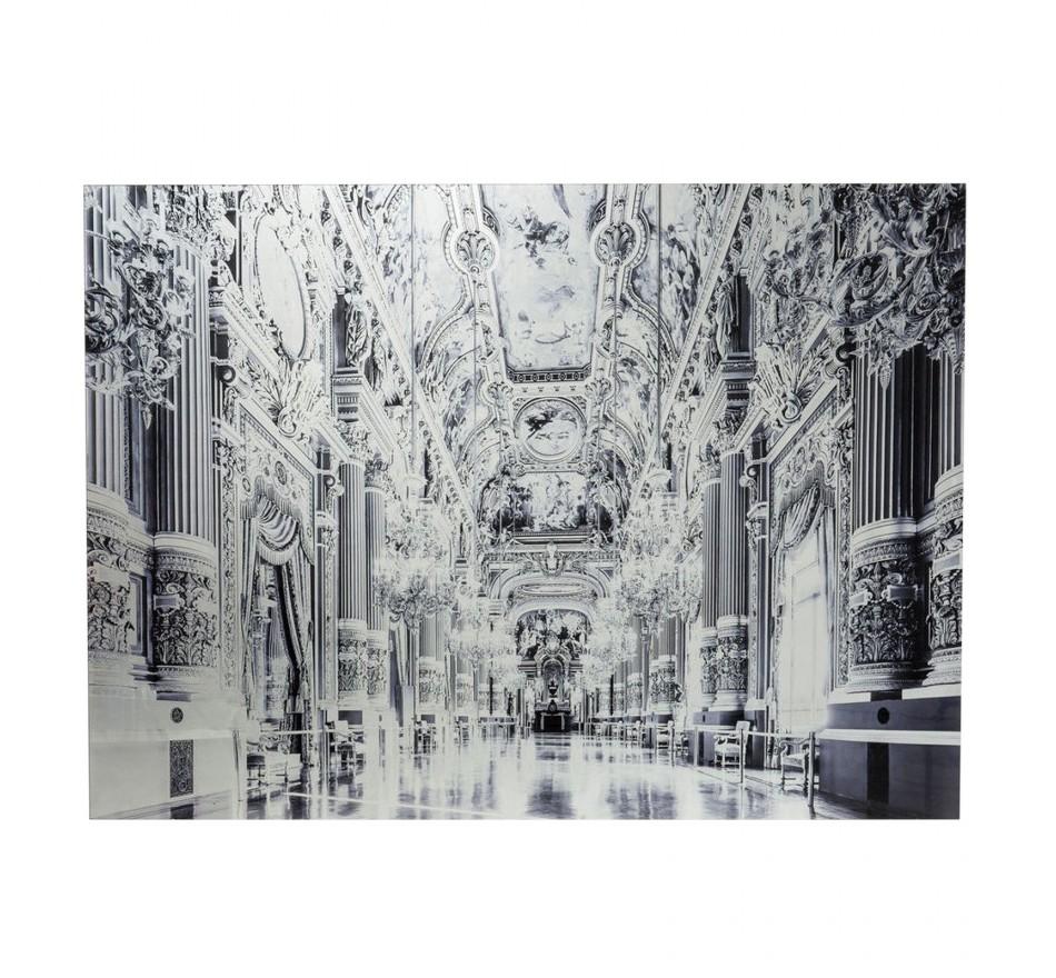 Tableau en verre Metallic Versailles 120x180cm Kare Design