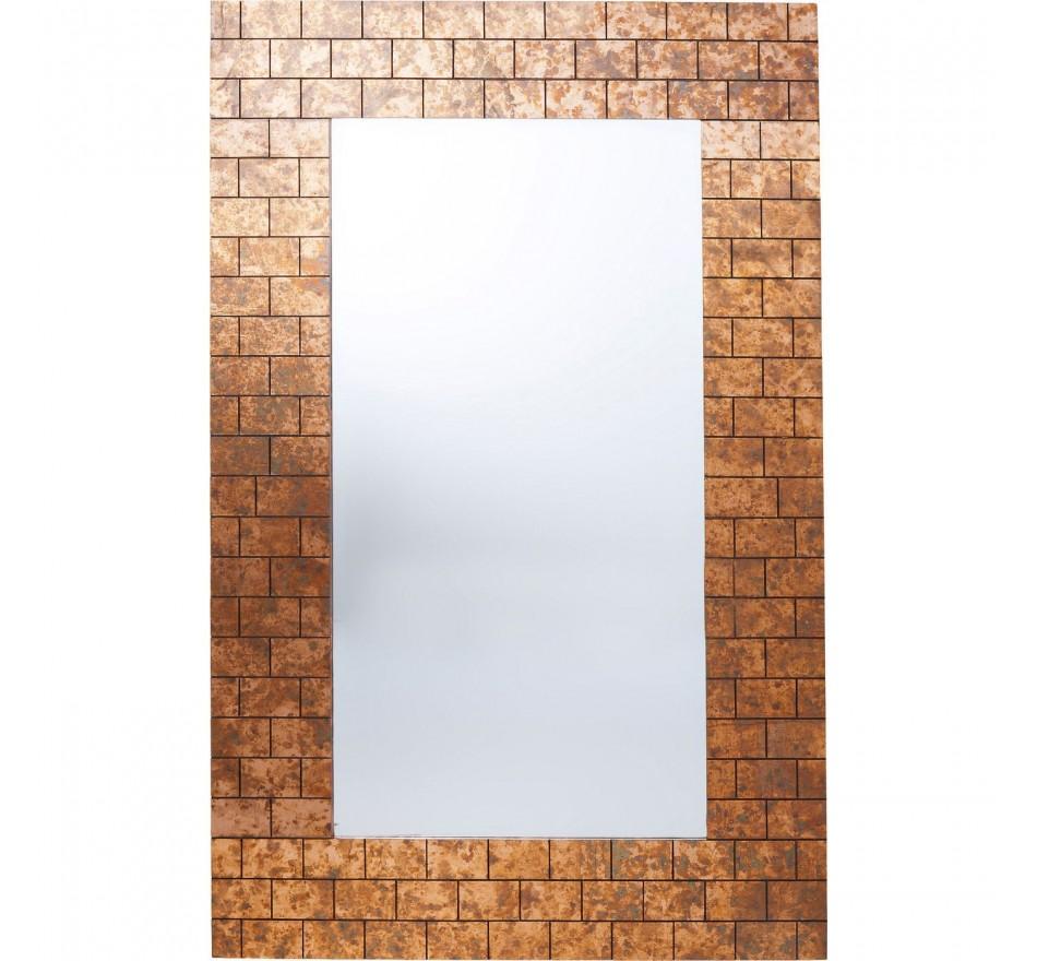 Miroir mur de briques 159x102cm Kare Design