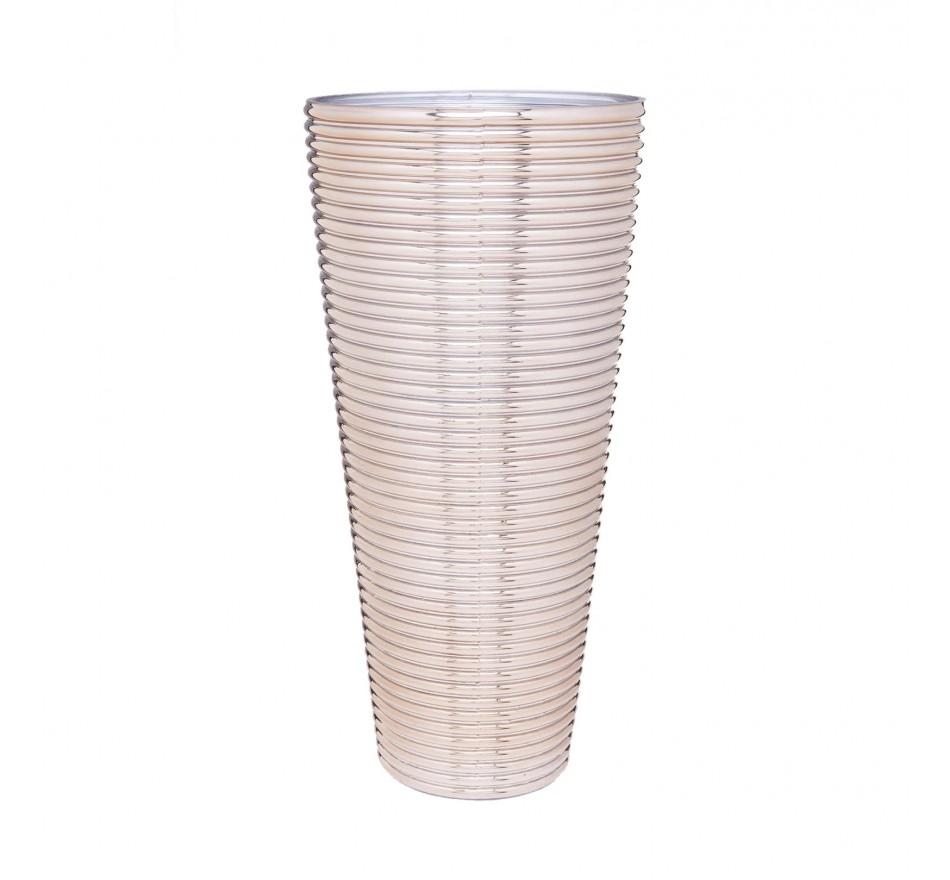 Vase Turbine doré 50cm Kare Design