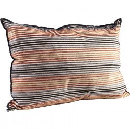 Coussin Zipper Stripes 45x60cm Kare Design
