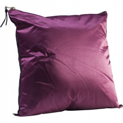 Coussin Zipper violet 45x45cm Kare Design