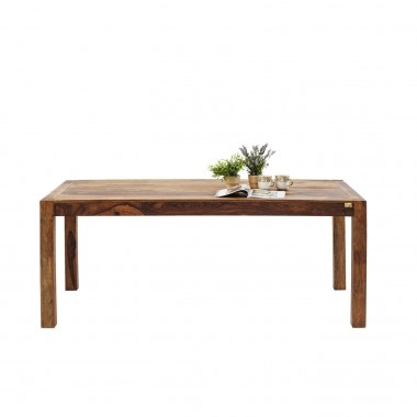 Table en bois Authentico 140x80 cm Kare Design