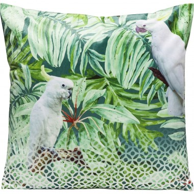 Coussin Jungle Cockatoo 45x45cm Kare Design