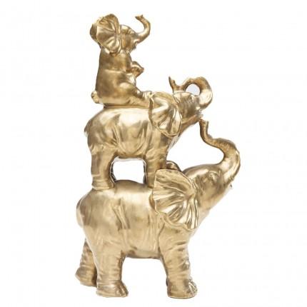 Déco Circus Éléphants doré Kare Design