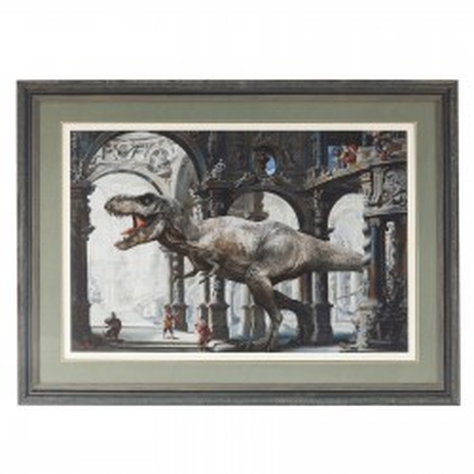 Tableau Frame Art Dino 86x116cm Kare Design