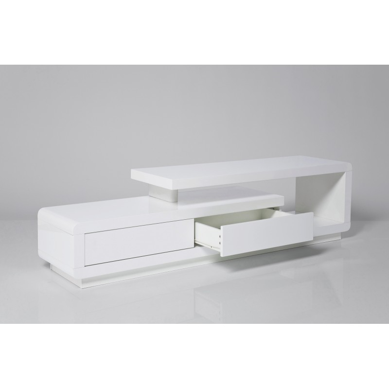 Meuble Tv Design Blanc Loft Kare