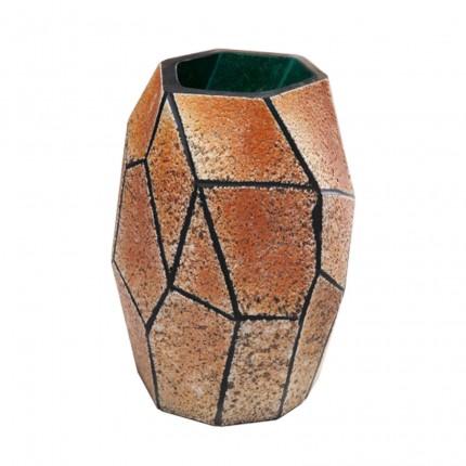 Vase Stone marron 22cm Kare Design