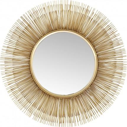 Miroir Sunburst doré 87cm Kare Design