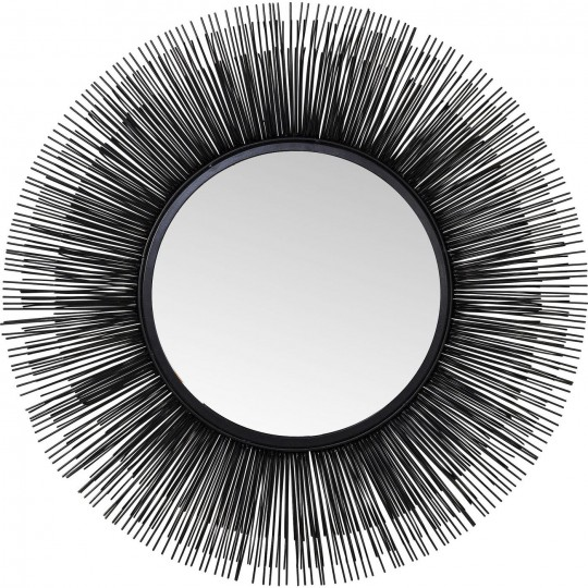 Incroyable Miroir rond noir - Sunburst - Kare Design IS-26