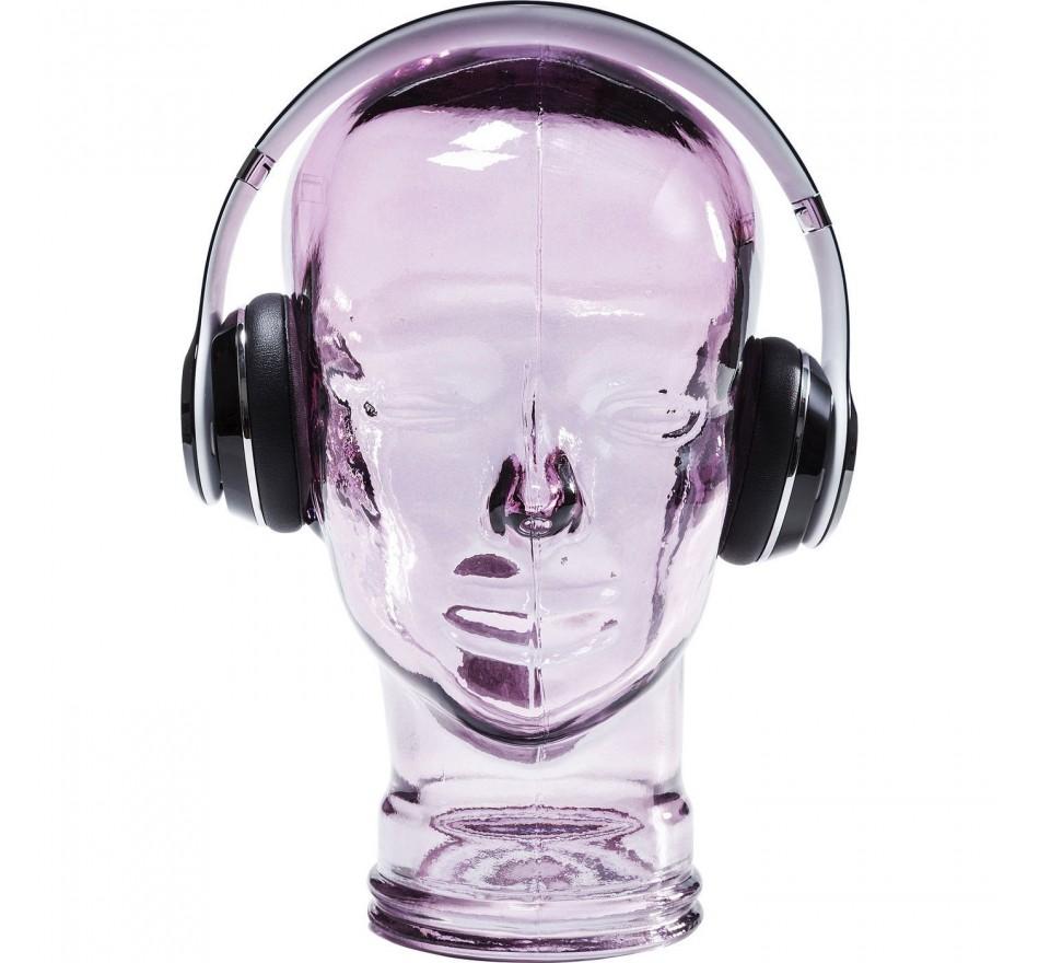 Tête Headphone violette Kare Design