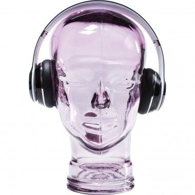Tête Headphone violette Kare Design