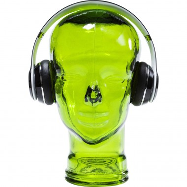 Tête Headphone verte Kare Design