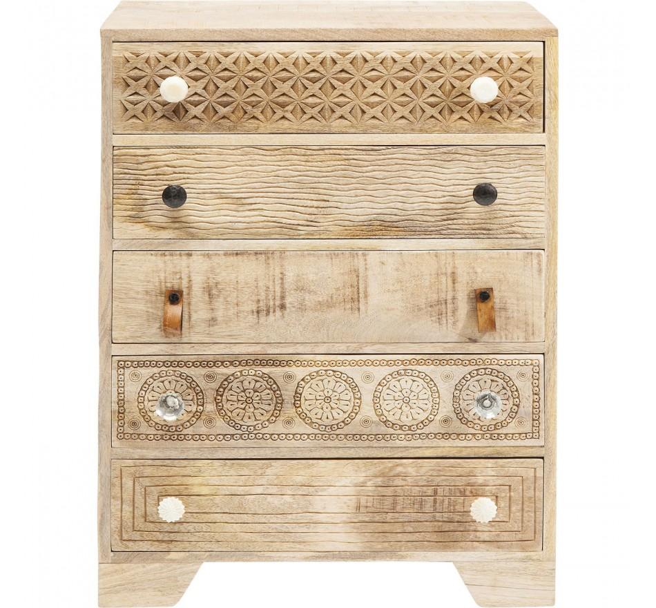 Commode Puro 5 tiroirs Kare Design