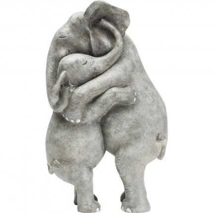 Déco câlins d'éléphants Kare Design