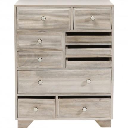 Commode Linear 10 tiroirs Kare Design