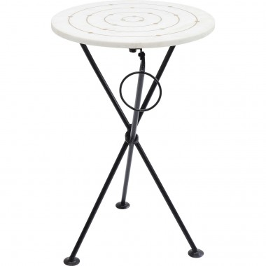 Table d'appoint Clack ronds dorés Kare Design