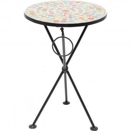 Table d'appoint Clack Mosaic multicolore 36cm Kare Design