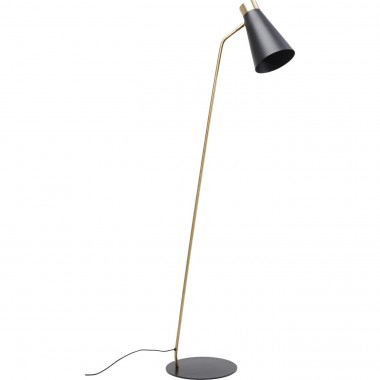 Lampadaire Richmond 150cm noir Kare Design