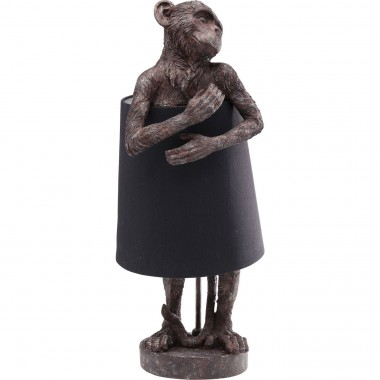 Lampe Animal singe marron Kare Design