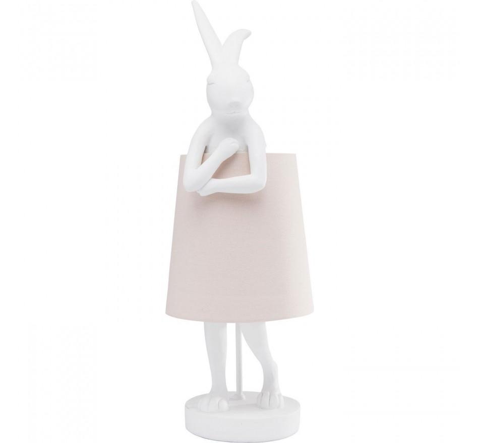 Lampe Animal Lapin blanc Kare Design