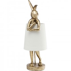 Lampe Animal Lapin doré Kare Design