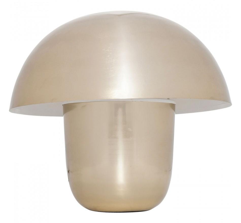 Lampe de table Mushroom dorée 40cm Kare Design