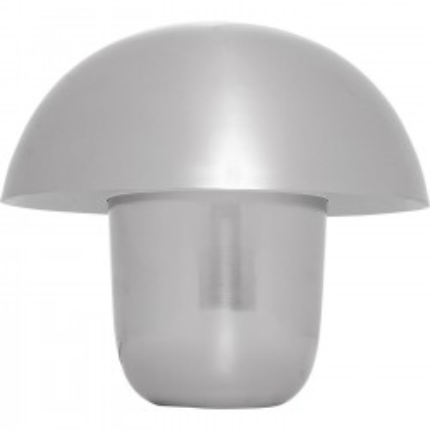Lampe de table Mushroom chromée 40cm Kare Design