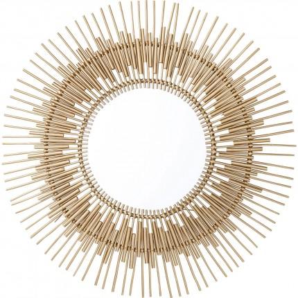 Miroir Icario doré 90cm Kare Design