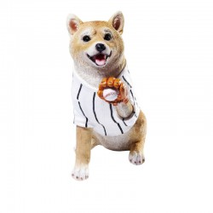 Tirelire Baseball Shiba Kare Design