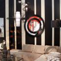 Miroir Icario Duo noir 132cm Kare Design