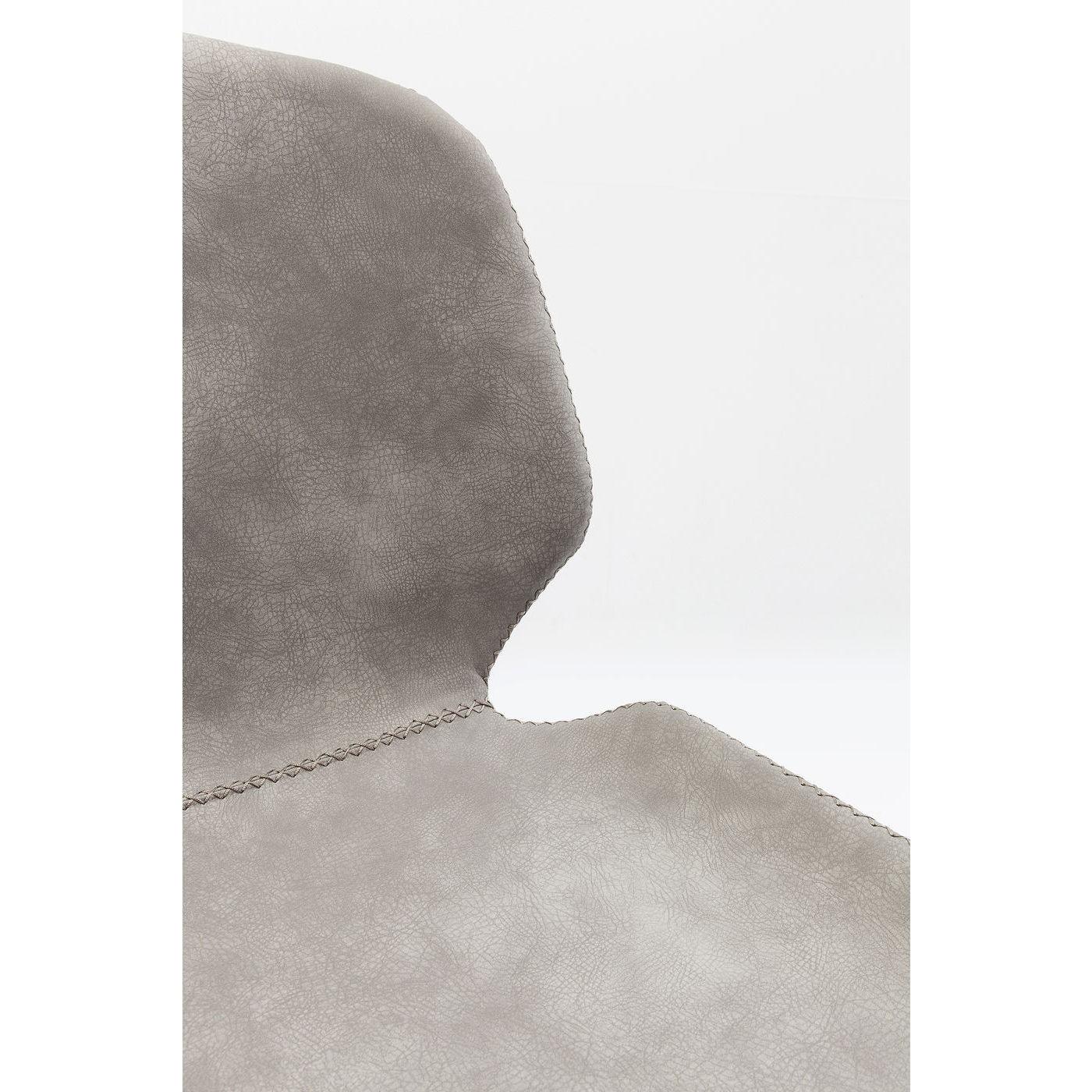 Chaise Honeymoon grise Kare Design
