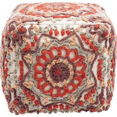 Pouf Arabian Flower rouge Kare Design
