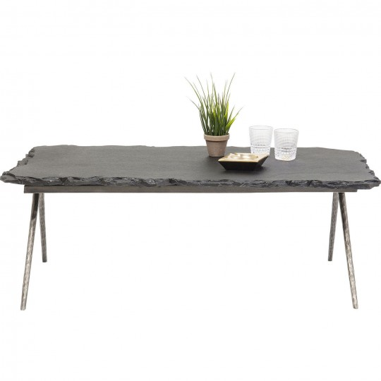 Table basse Pilla Stone 121x61cm Kare Design