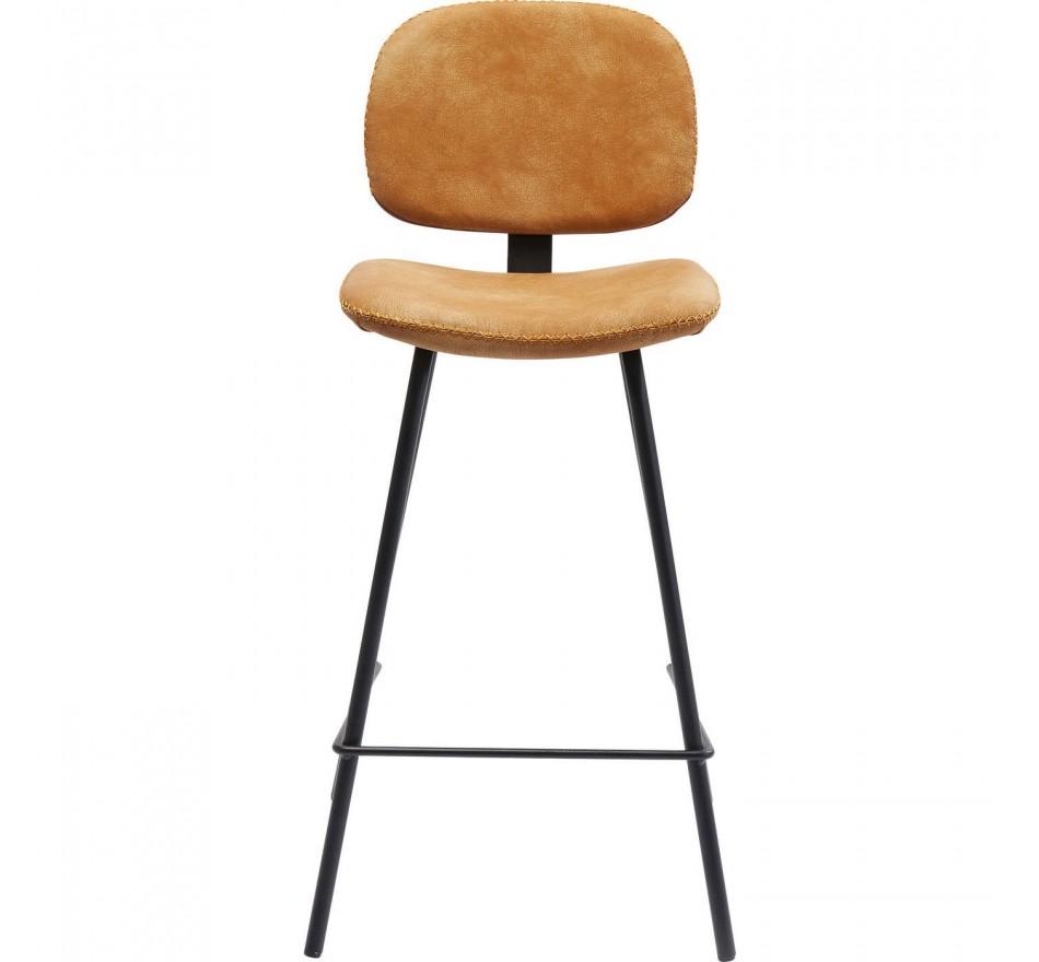 Tabouret de bar Barber orange Kare Design