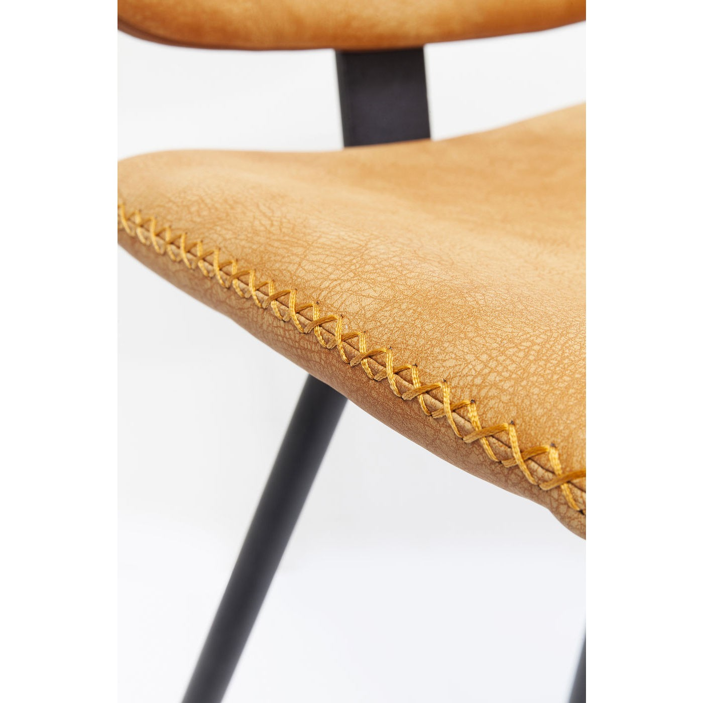 Tabouret de bar Barber orange Kare Design