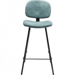 Tabouret de bar Barber bleu clair Kare Design