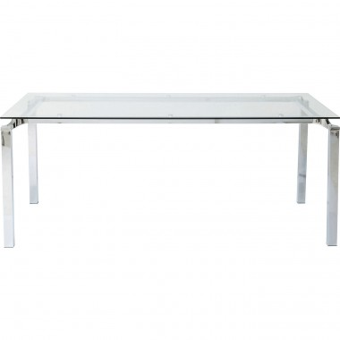 Table Lorenco chrome 180x90cm Kare Design