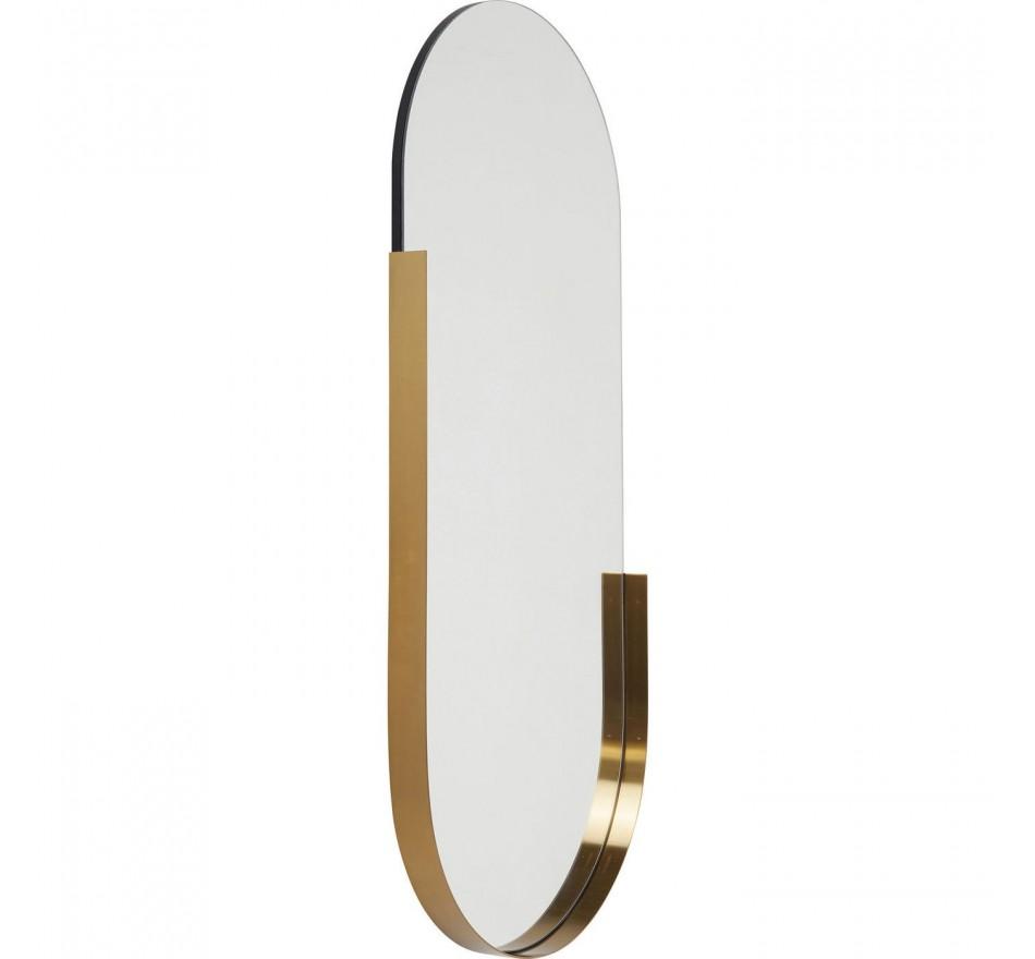 Miroir Hipster ovale 114x50cm Kare Design
