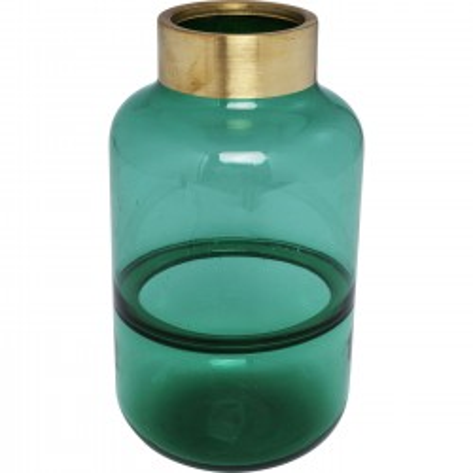 Vase Positano Belly vert 28cm Kare Design