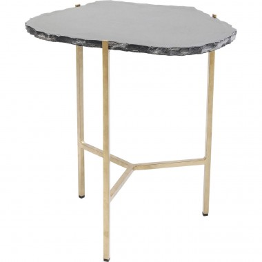 Table d'appoint Piedra noire 50x46cm Kare Design