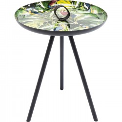 Table d'appoint Jungle perroquet 39cm Kare Design