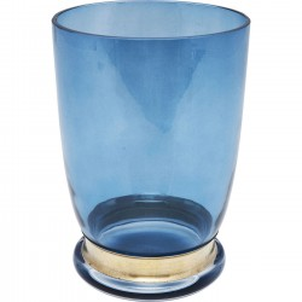 Vase Positano bleu 20cm Kare Design