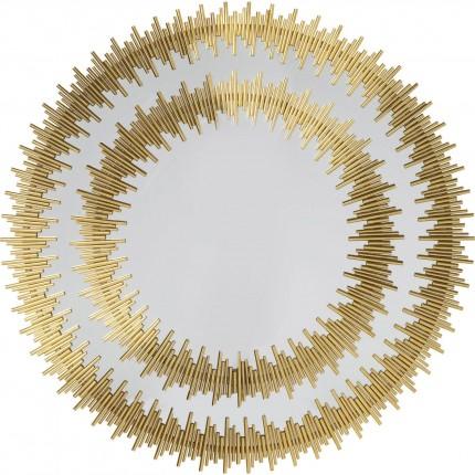 Miroir Solare doré 132cm Kare Design