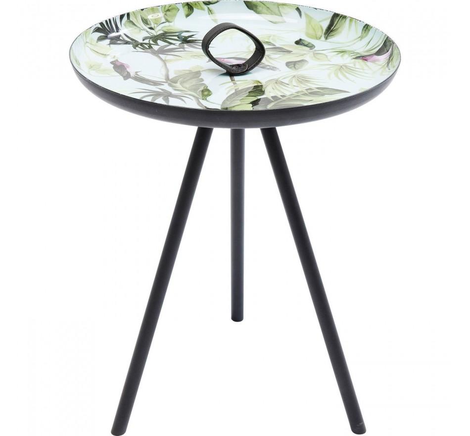 Table d'appoint Jungle oiseaux 39cm Kare Design