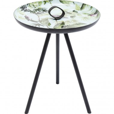 Table d'appoint Jungle oiseaux 39cm Kare Design