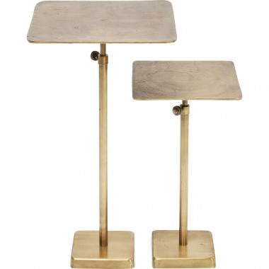 Tables d'appoint Solo set de 2 Kare Design