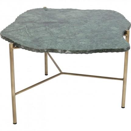 Table basse Piedra 76x72cm verte Kare Design