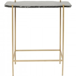 Table de bar Piedra noire 60x30cm Kare Design